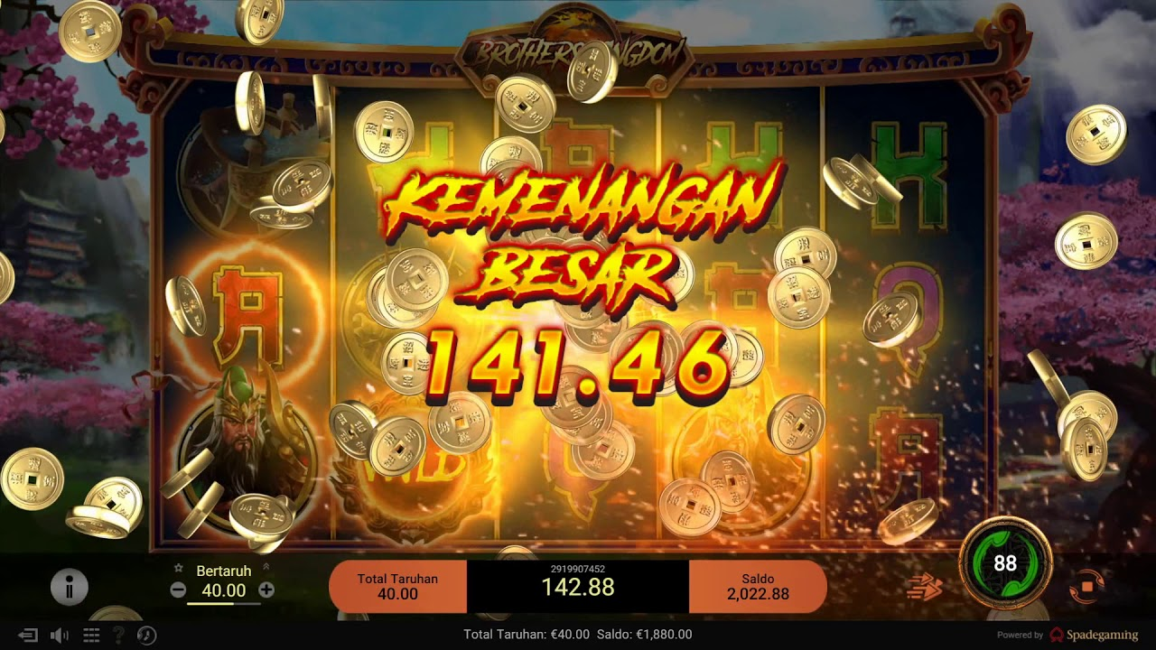 Bermain Slot Online Versi Spade Gaming